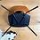 Thumbnail: Ensemble de 3 chaises Tonneau Pierre Guariche