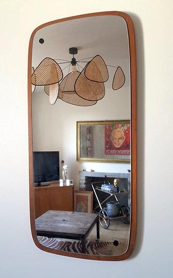 Miroir en teck