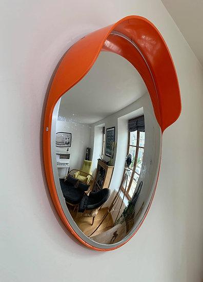 Ancien miroir convexe