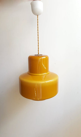 Suspension en opaline Sixties