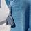 Thumbnail: Fauteuil crapaud bleu