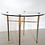 Thumbnail: Table basse en verre et laiton
