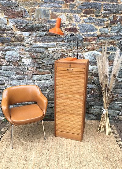 Classeur à rideau en bois
