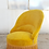Thumbnail: Fauteuil crapaud or
