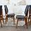 Thumbnail: Série de 4 chaises en skaï
