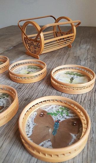 Dessous de verre en bambou