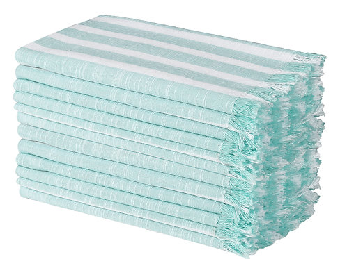 Cotton Clinic Belizzi 20x20 Cloth Dinner Napkins - Set of 12