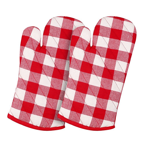 Cotton Clinic Set of 2 Buffalo Check Pot Holders