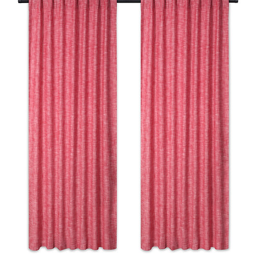 Cotton Clinic Slub Curtains 2 Panels