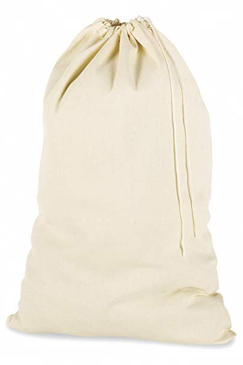 Cotton Clinic 24x36 Multipurpose Laundry Bags Natural