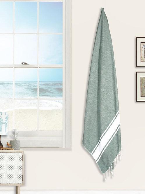 Cotton Clinic Beach Beauty 39x78 Turkish Peshtemal Beach Towels