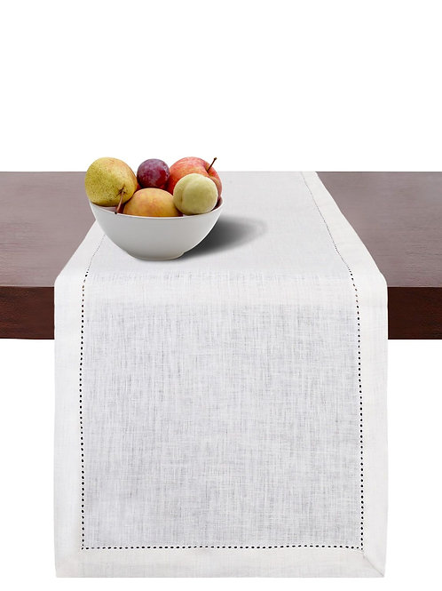 Cotton Clinic Pure Linen Table Runner