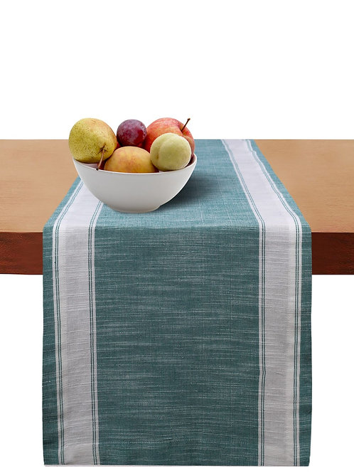 Cotton Clinic Helena Broad Stripe Table Runner