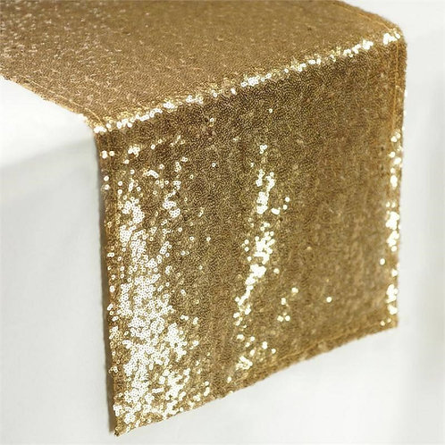 Cotton Clinic Sequin Table Runners