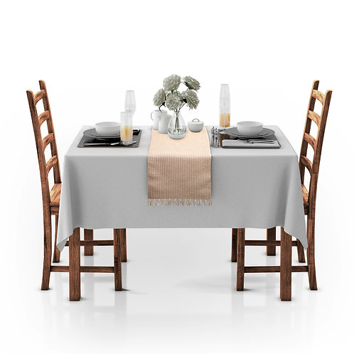 Cotton Clinic Basketweave Table Runner