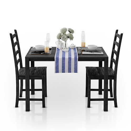 Cotton Clinic Belizzi Stripe Table Runners - 2 Pack