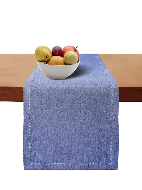 Cotton Clinic Classic Hemstitch Table Runner