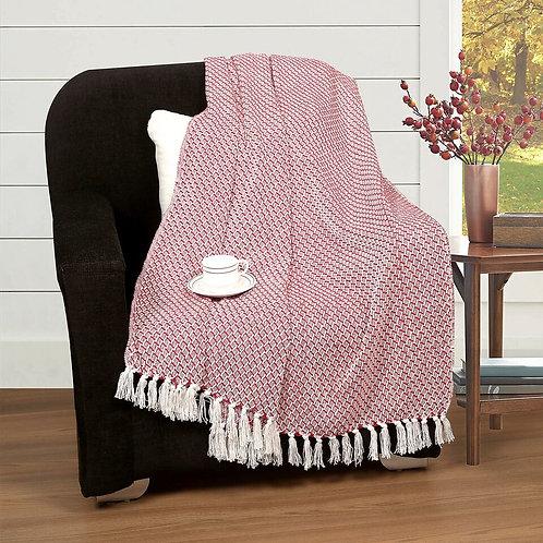 Cotton Clinic All Season Throw Blanket 50x60