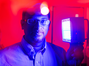 New research shows light therapy helps burn injuries heal faster