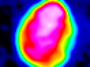 First-time hi-res topography of asteroid Psyche taken using thermal imaging