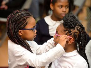 Eyeglasses for school kids boosts academic performance