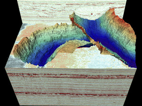MRI scan reveals spectacular ice age landscapes beneath the North Sea