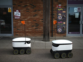 Delivery robots take the strain out of shopping