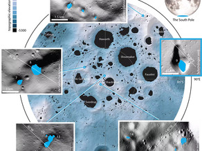 AI is looking for hidden water on the surface of the Moon