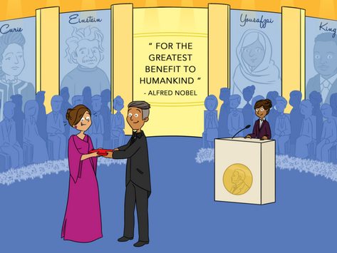 Five Nobel Prize winners publish scientific article collection for children