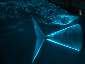 A robotic fish tail and next-gen underwater vehicles