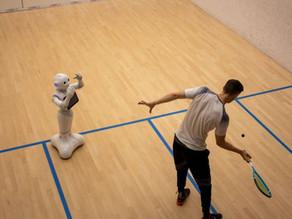 Meet Pepper -- the world's first robotic squash coach