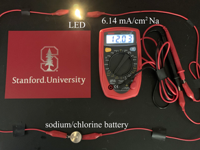 Stanford researchers make rechargeable batteries that store six times more charge