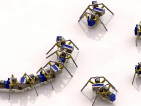 Legged robots developed new way to navigate difficult terrain