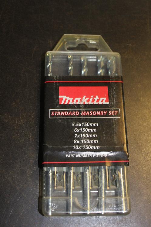 Masonry Drill Bit Set