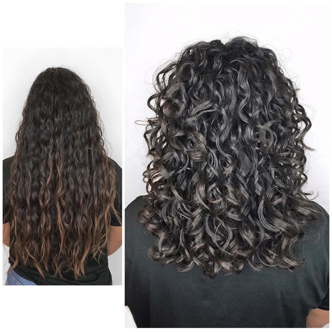 Curly Cut / Style by Vanessa
