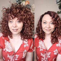Virtual Curly Cut