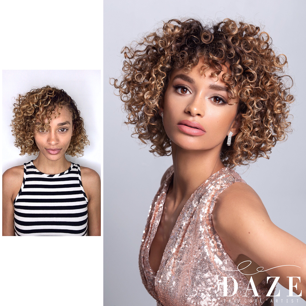Curly Hair San Diego