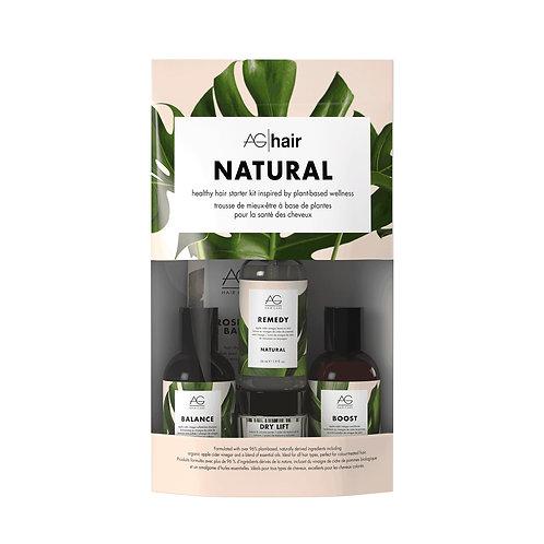 AG NATURAL Healthy Hair Starter Kit - 5pcs