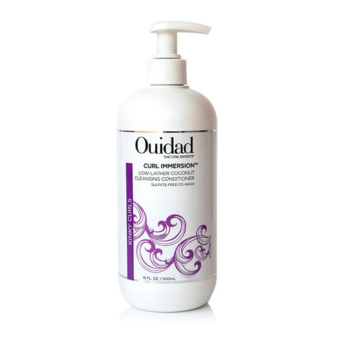 Ouidad Curl Immersion™ Low-Lather Coconut Cleansing Conditioner