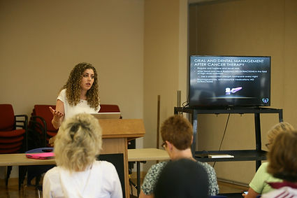 oral side effects of cancer therapy lecture by Lauren Levi, DMD