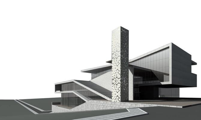 성남시 어린이도서관 및 공영주차장
