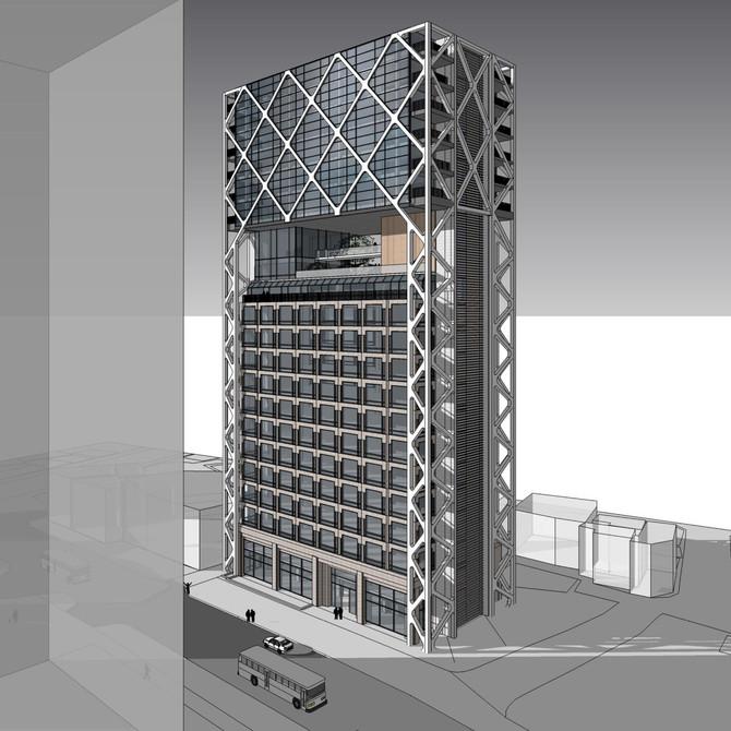 솔로몬빌딩 증축 및 리모델링 제안