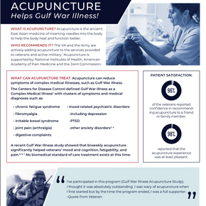 Acupuncture: a non-drug treatment for pain and symptoms of Gulf War Illness