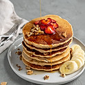 6 Pancakes With Maple Syrup