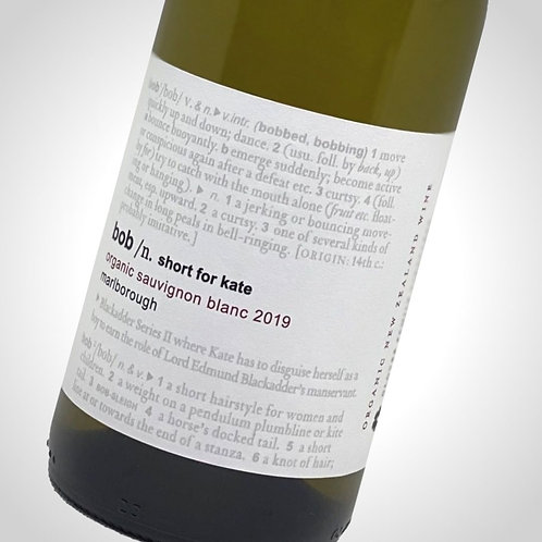 BOB / Short For Kate Sauvignon Blanc 2019