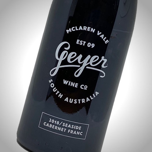 """Geyer """"Seaside"""" Cabernet Franc 2018"""