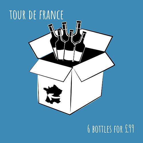 Tour de France Wine Box