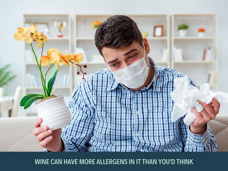 Test Your Reactions – What Allergens Are In Wine?
