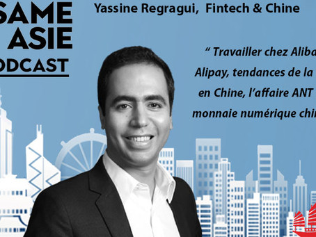 #37 Chine: Yassine Regragui [Fintech & Chine] Travailler chez Alibaba & Alipay, l'affaire ANT IPO...