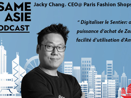 #27 Paris: Jacky Chang [Paris Fashion Shops] Digitaliser le Sentier
